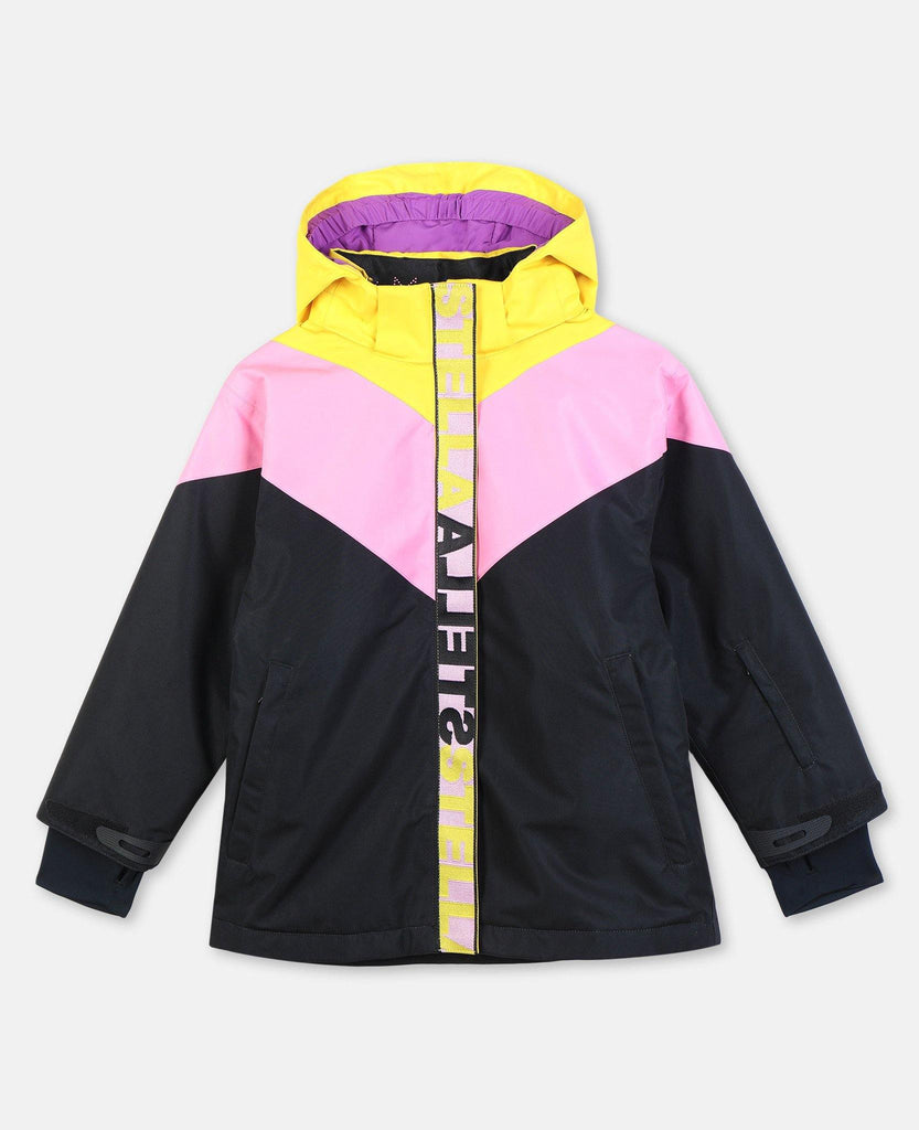 KID GIRL COLORBLOCK SKI JACKET