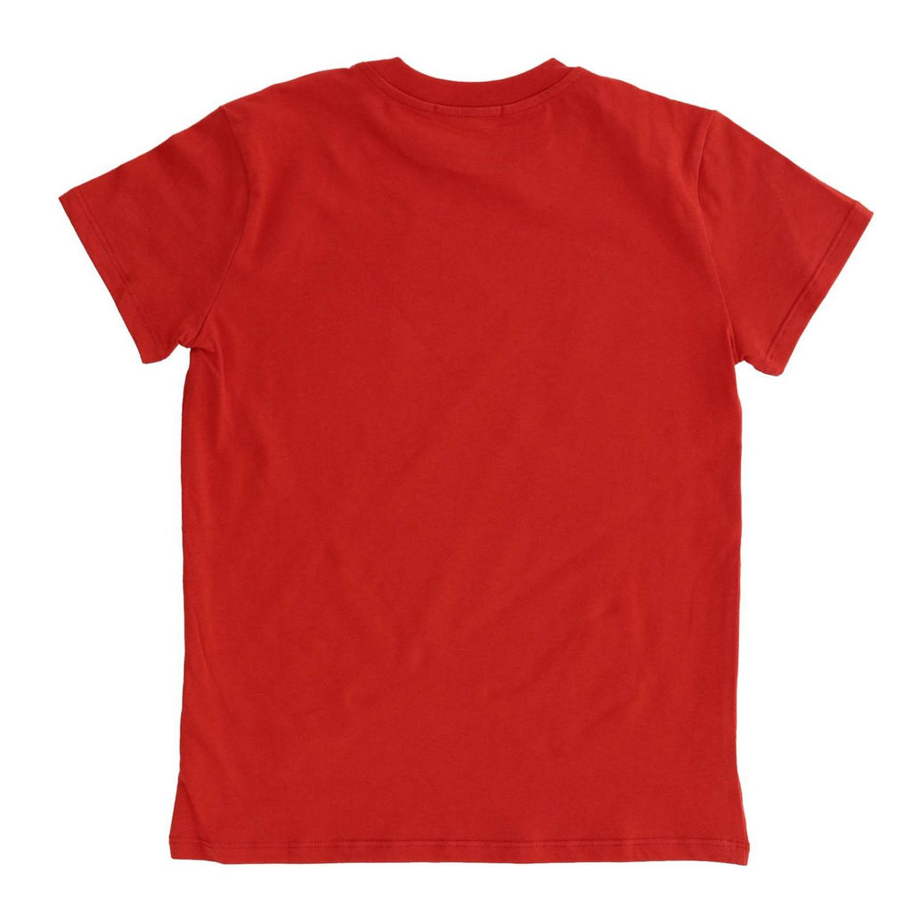 LOGO T-SHIRT JERSEY UNISEX,RED