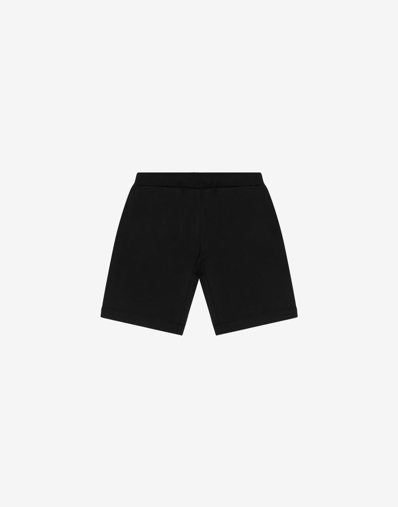 BOY SHORTS W LRG LOGO SIGN,BLACK