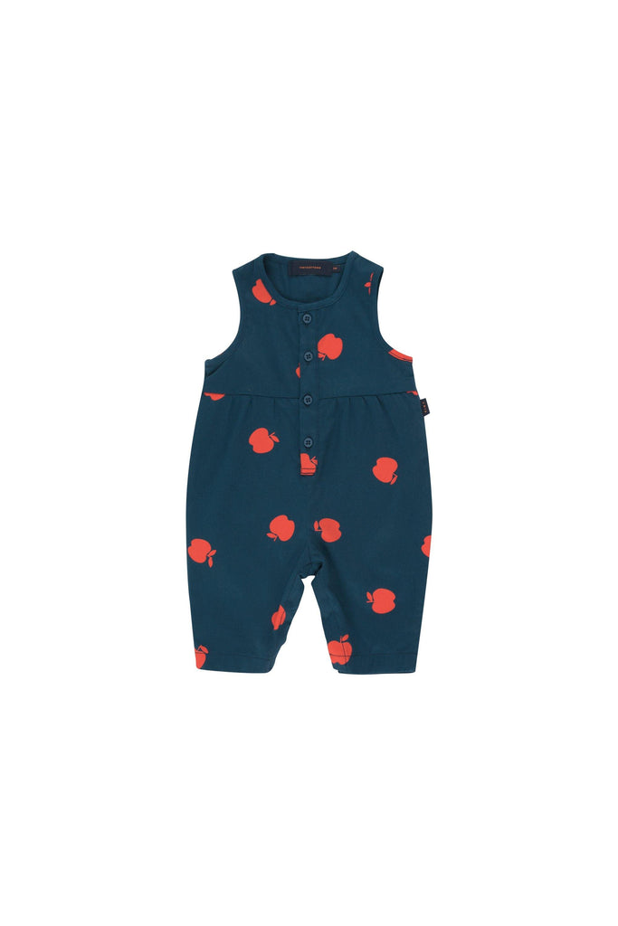 'APPLES'' ONE-PIECE true navy/burgundy - Cemarose Children's Fashion Boutique