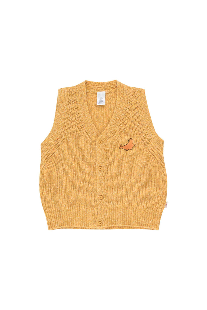 'LITTLE SEAL'' VEST yellow