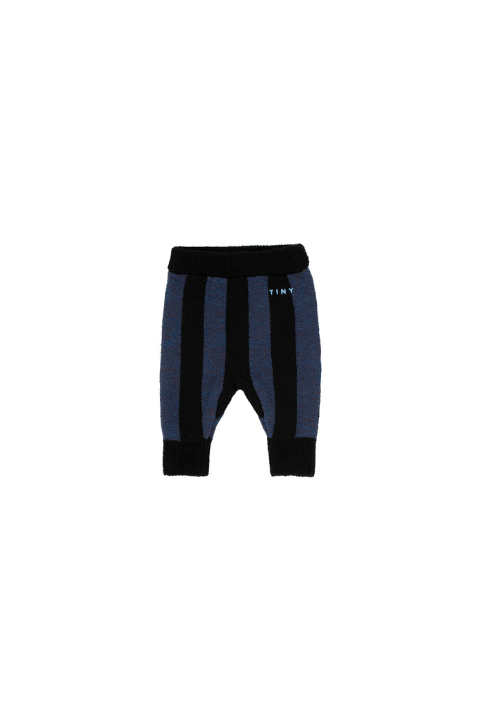 STRIPES PANT black/true navy - Cemarose Children's Fashion Boutique
