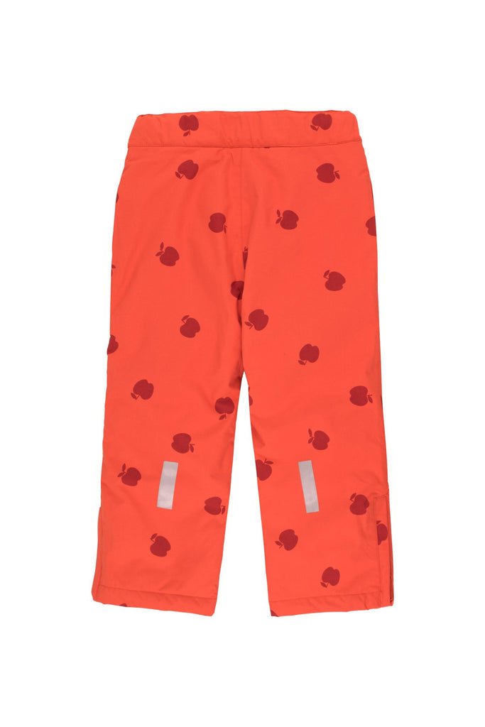 'APPLES'' SNOW PANT red/burgundy - Cemarose Children's Fashion Boutique