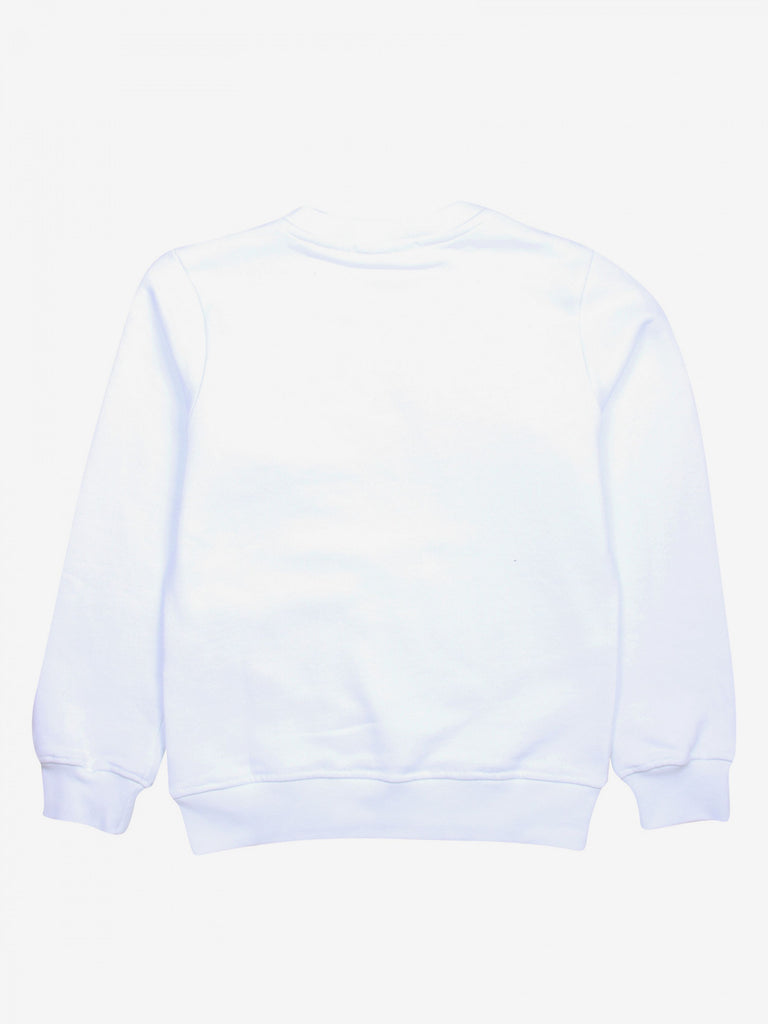 SWEATSHIRT GIRL,WHITE