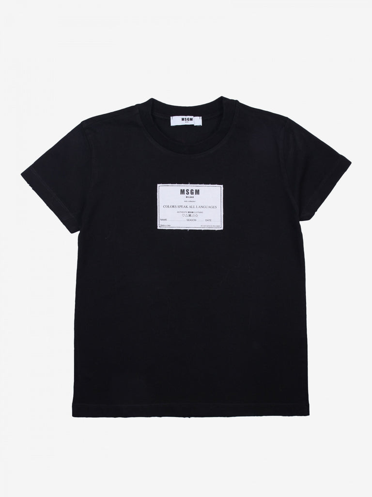 T-SHIRT JERSEY BOY,BLACK