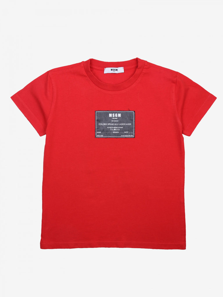 T-SHIRT JERSEY BOY,RED