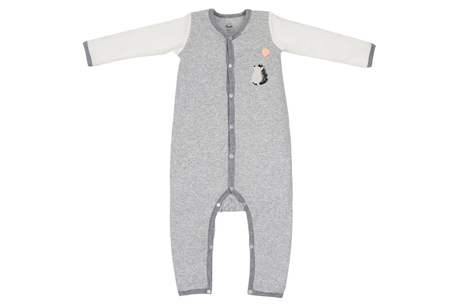 Organic Cotton One Piece PJ Set - Hedgehog