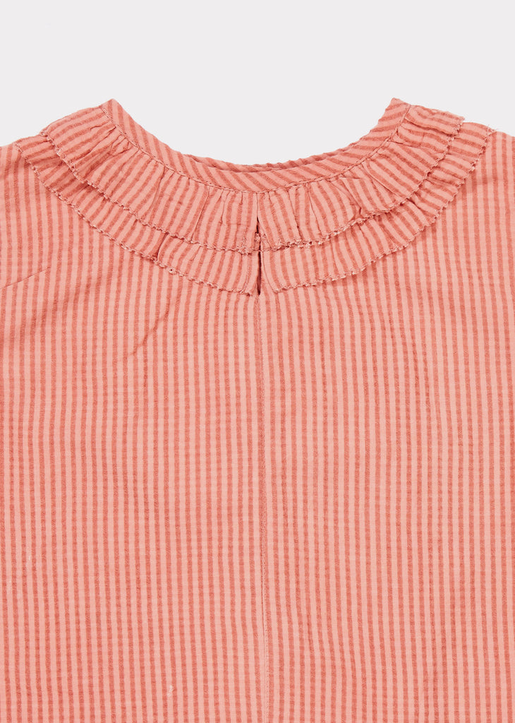BEGONIA TOP,CLAY - Cemarose Children's Fashion Boutique
