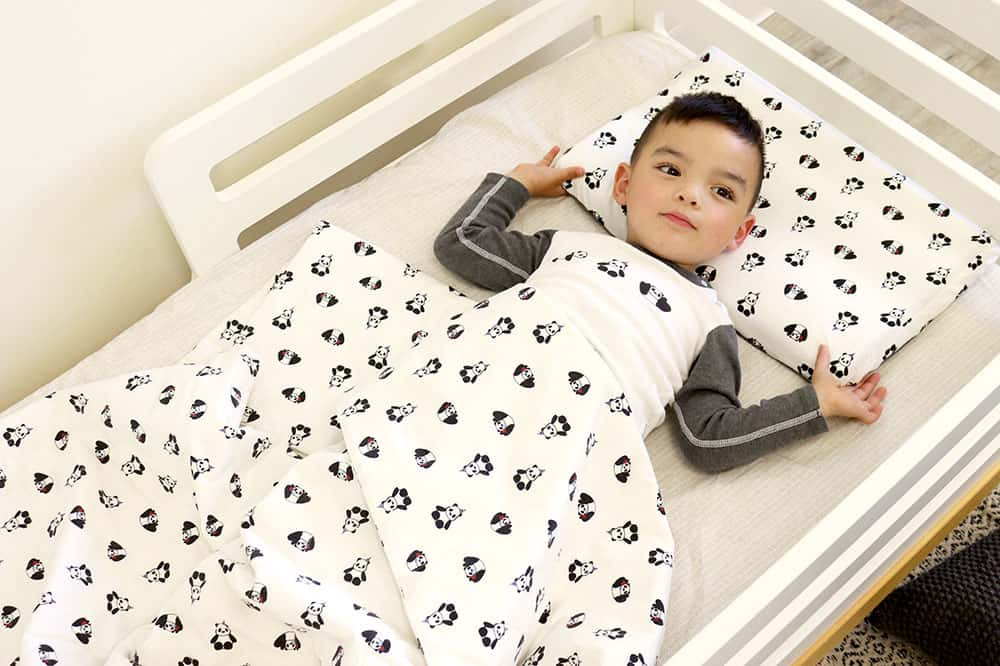 Organic cotton two pieces PJ set - Panda party - Cemarose Children's Fashion Boutique