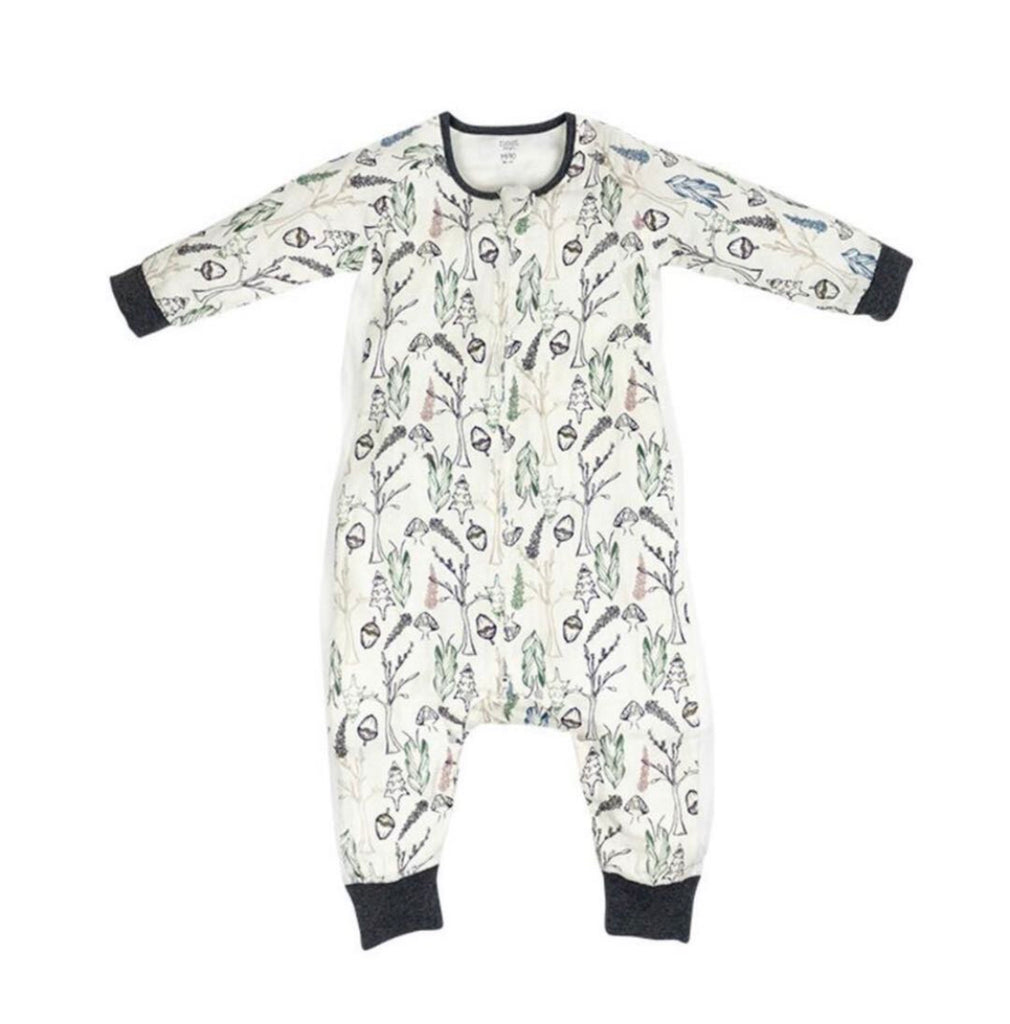 Bamboo Long Sleeve Sleep Suit 0.6 TOG - Fresh Forest