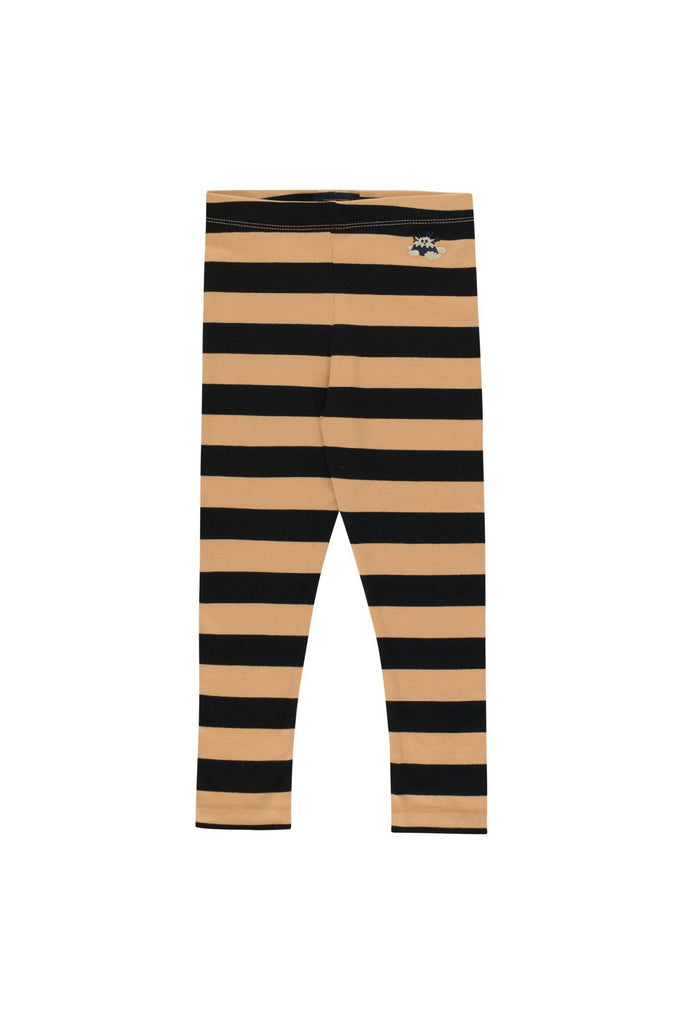 """TINY FUJI"" STRIPES PANT camel/black - Cemarose Children's Fashion Boutique"