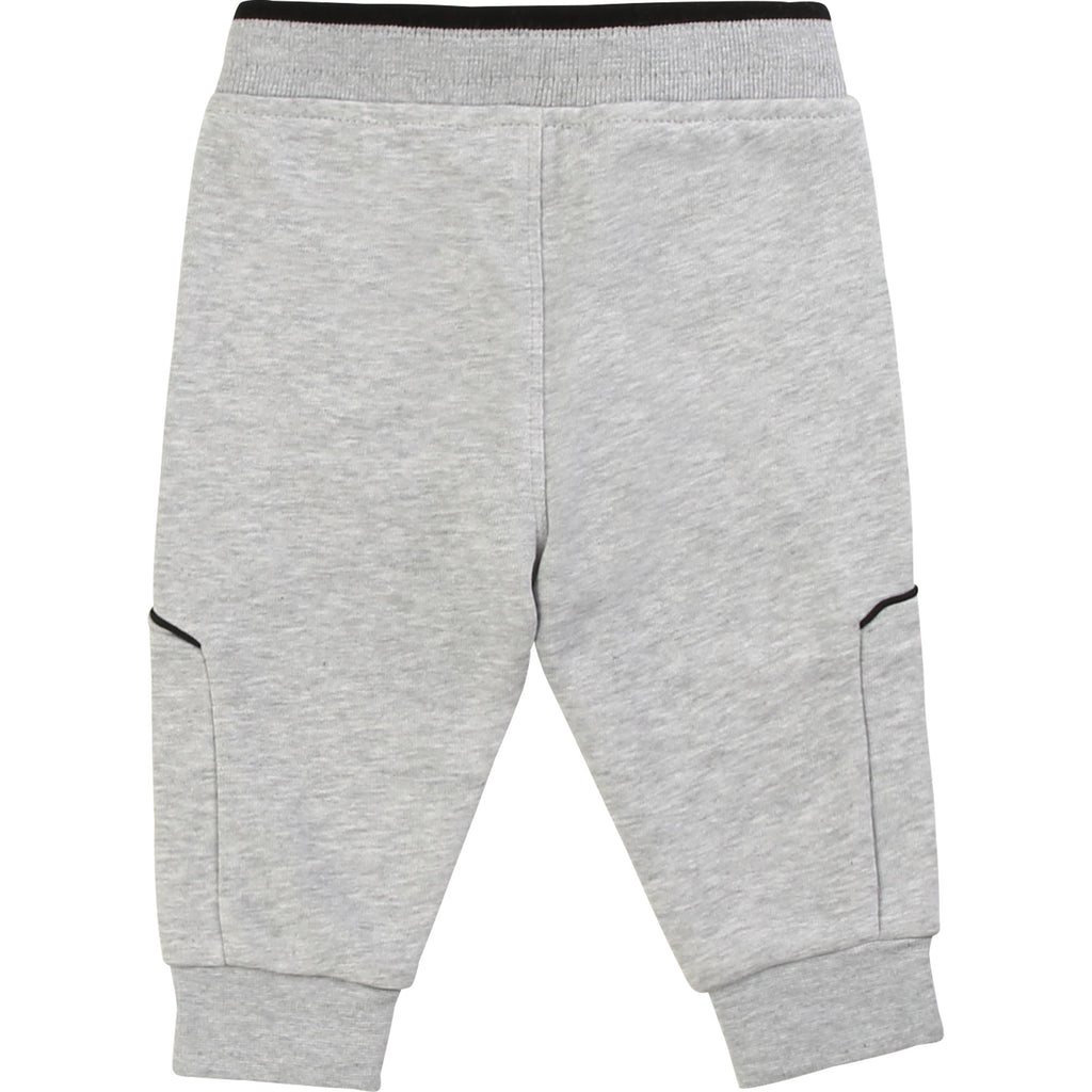 JOGGING BOTTOMS, CHINE GREY