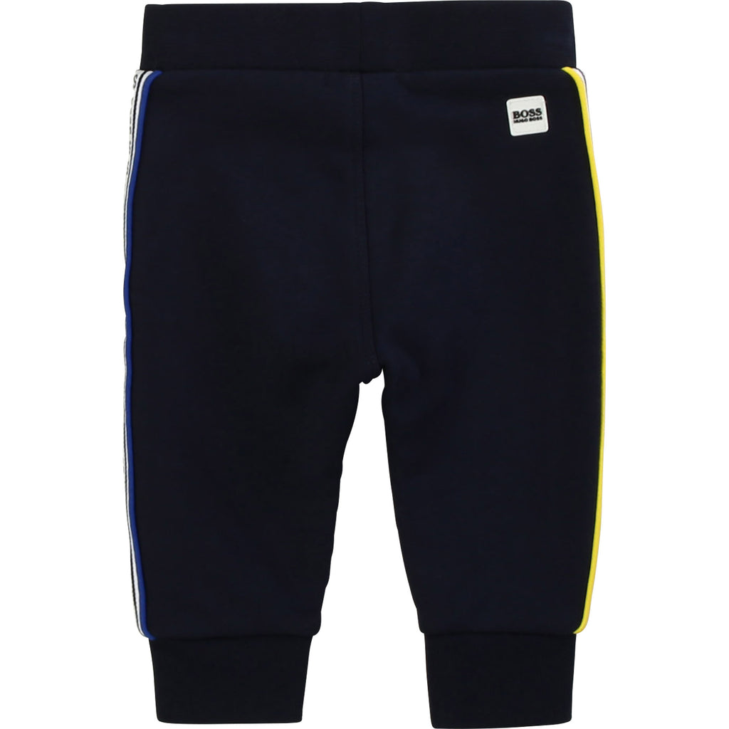 JOGGING BOTTOMS, NAVY - Cemarose Children's Fashion Boutique