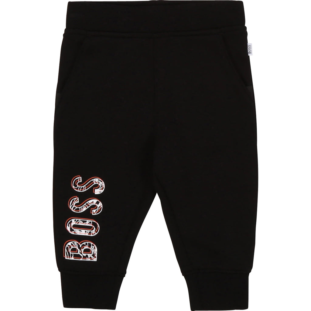 JOGGING BOTTOMS J04380 ,BLACK