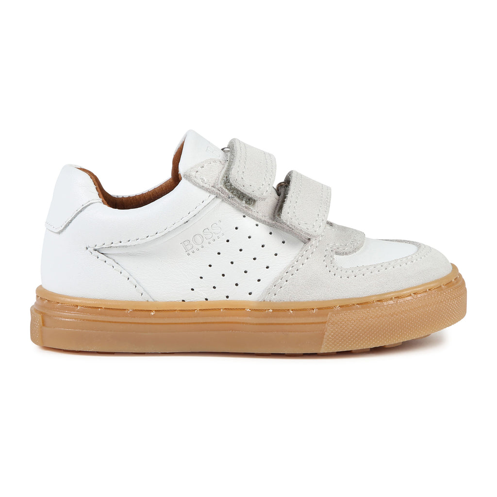 ESSENTIEL LOW TRAINERS, WHITE