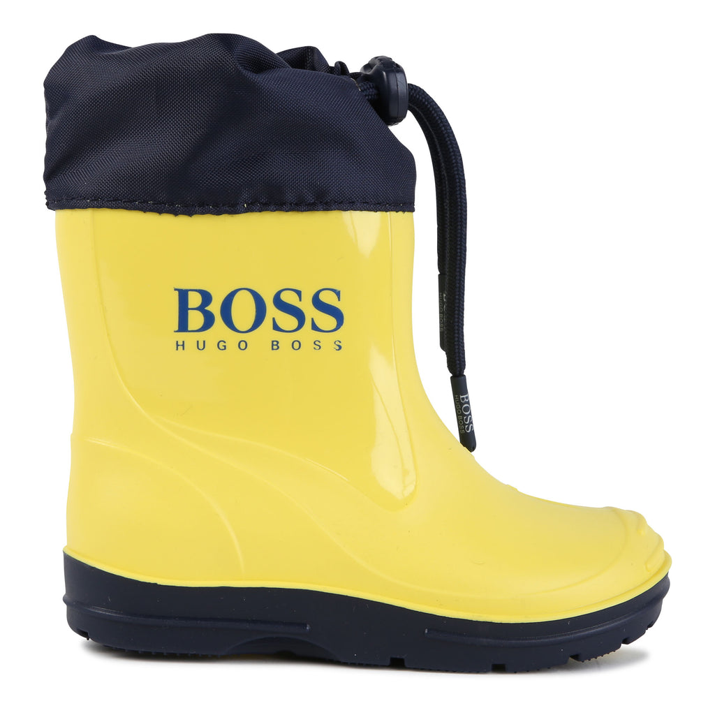 WELLIES, YELLOW