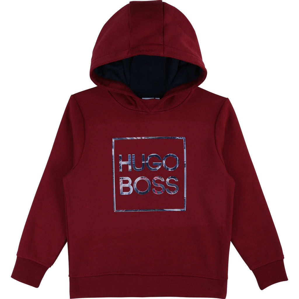 HOODED SWEATSHIRT, CRIMSON - Cémarose Canada
