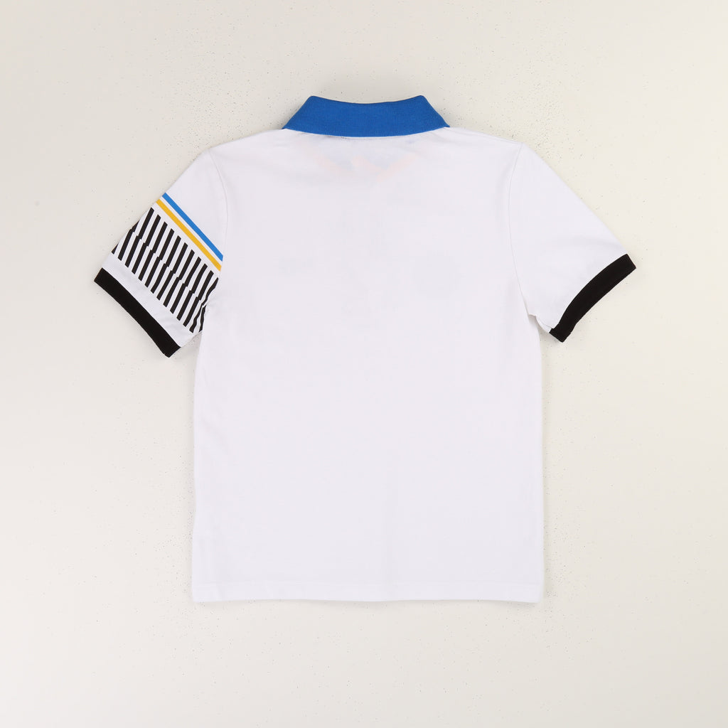 SHORT SLEEVE POLO, SPECIAL EDITION, WHITE