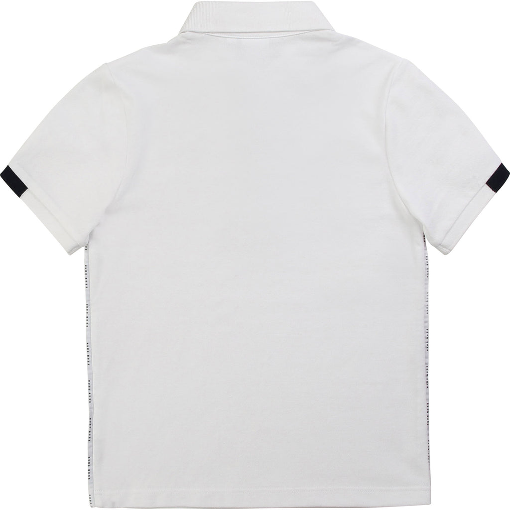 SHORT SLEEVE POLO, WHITE