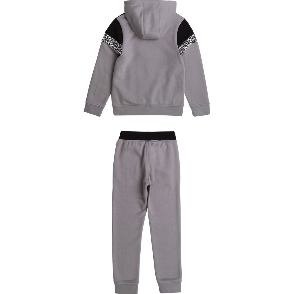 KID TRACK SUIT, MEDIUM GREY