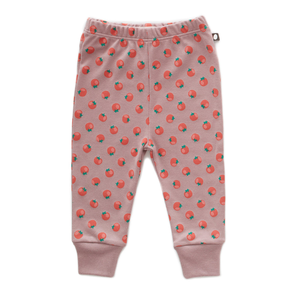 Leggings-Tomato Print - Cemarose Children's Fashion Boutique