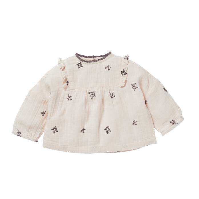 OPHRYS BLOUSE, ROSEE - Cemarose Children's Fashion Boutique