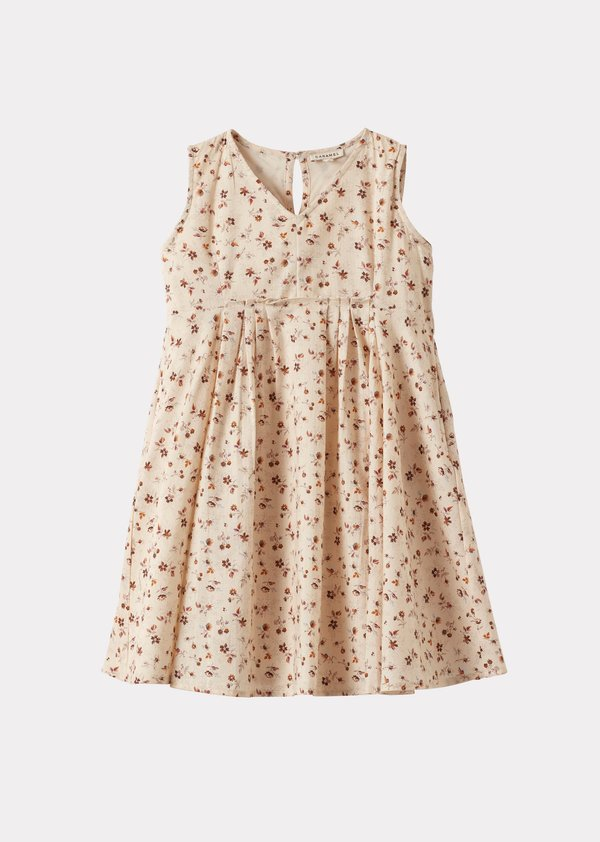 OCTOPUS DRESS,DITSY FLORAL PRINT