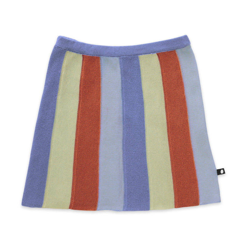 Striped Everyday Skirt-Icy Blue/Stripes