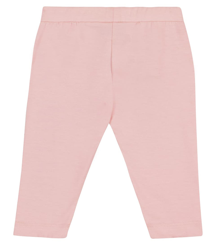 BB GIRL LEGGINGS W LOGO,SUG ROSE
