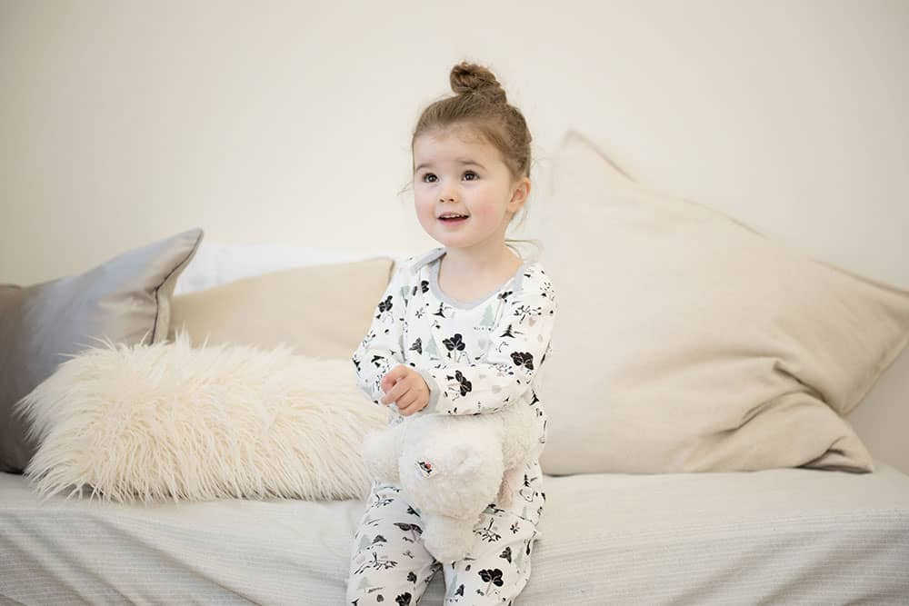 Organic Cotton Two Piece PJ Set - Forest Friends