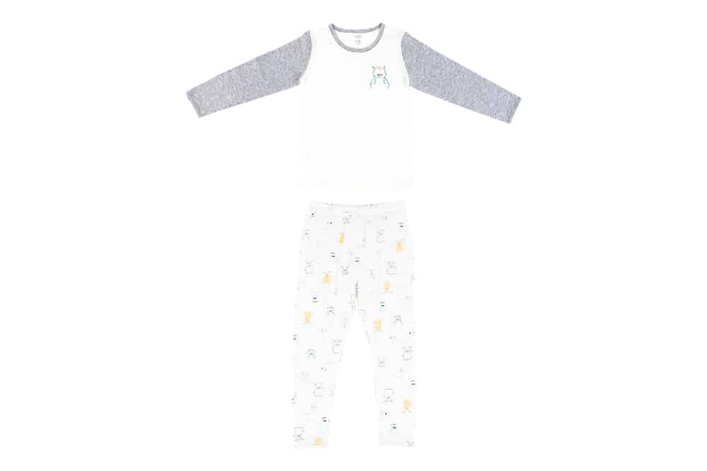 Bamboo Jersey Two-Piece Long Sleeve PJ Set – Ox-Standing!