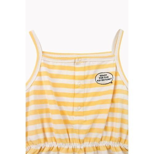 ADVANTURE_™ STRIPES ROMPER, cream/canary - Cemarose Children's Fashion Boutique