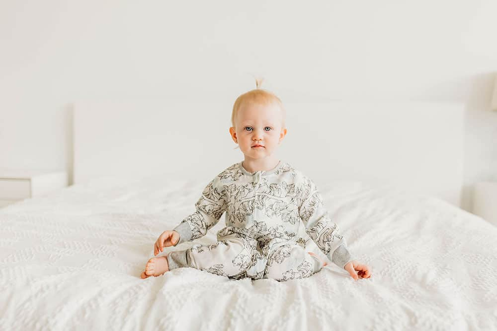 BAMBOO LS COZY SLEEP SUIT 0.6 TOG - TIGER DREAM - Cemarose Children's Fashion Boutique