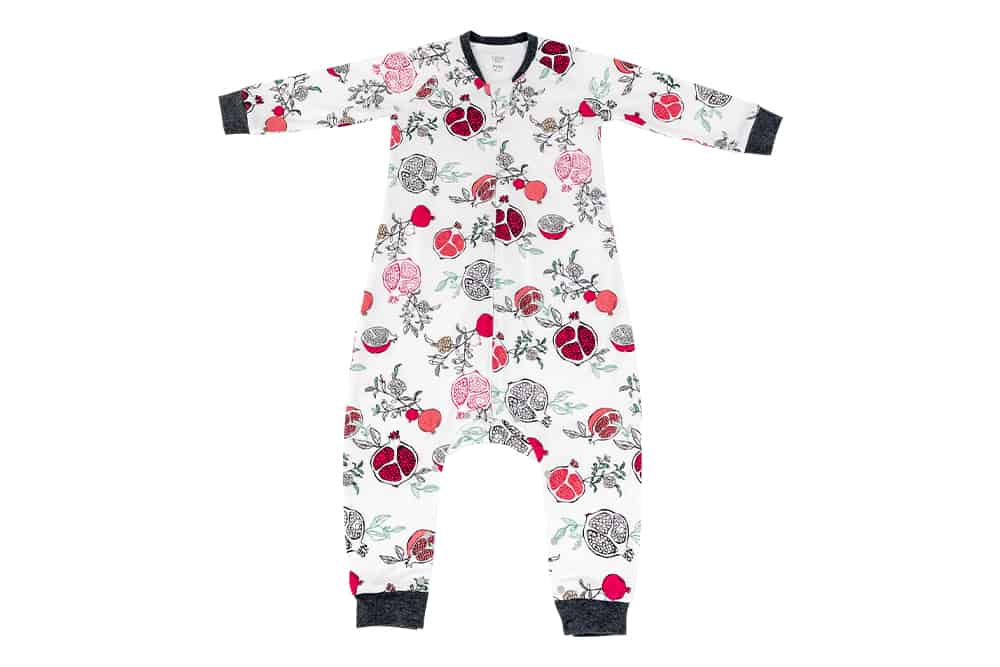 Organic Cotton Long Sleeve Sleep Suit 1.0 TOG – Pompom
