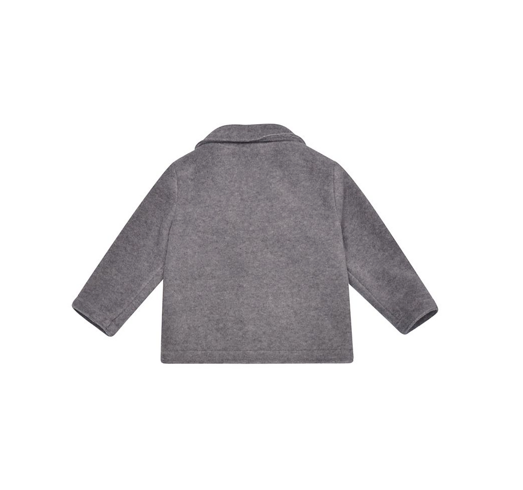 BABY BOY FELT JACKET,GREY
