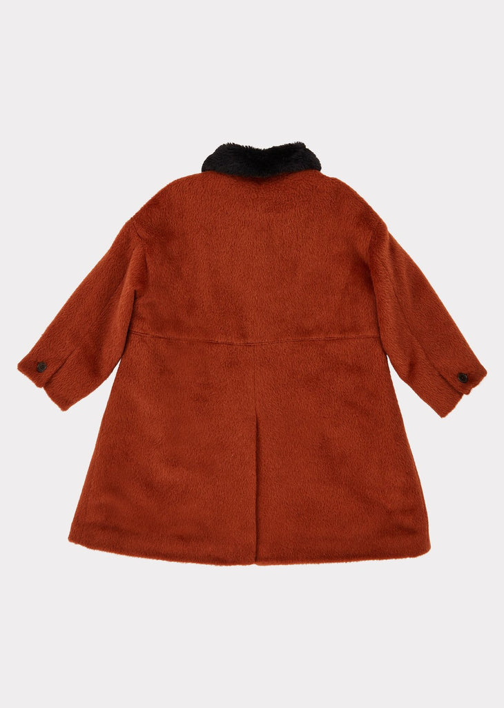 SHELDUCK COAT,RUST
