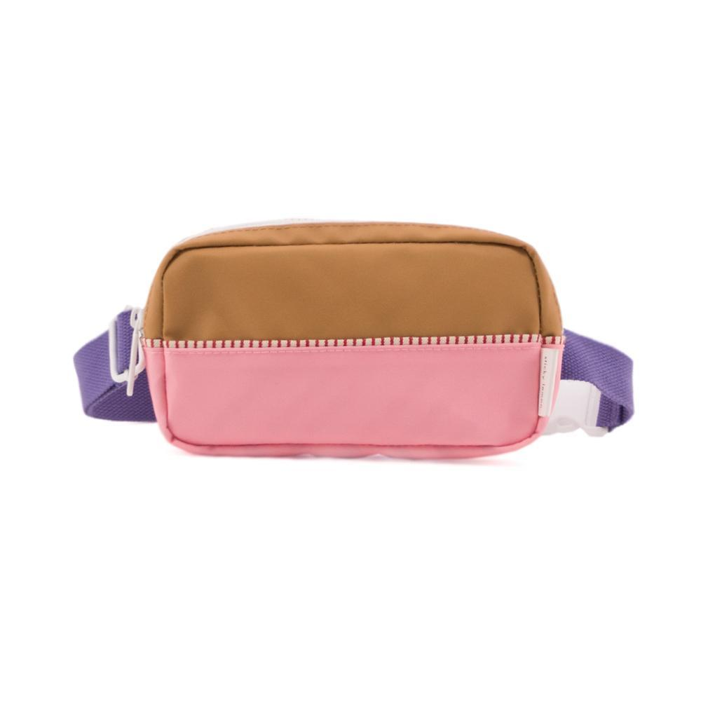 Sticky Lemon fanny pack colour blocking - panache gold+puffy pink+lobby purple - Cemarose Children's Fashion Boutique