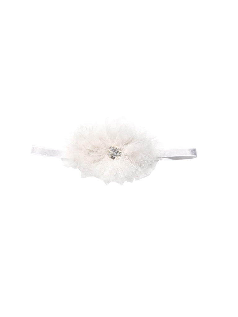 DANDELION WISHES HEADBAND, MILK UNI - Cemarose Children's Fashion Boutique
