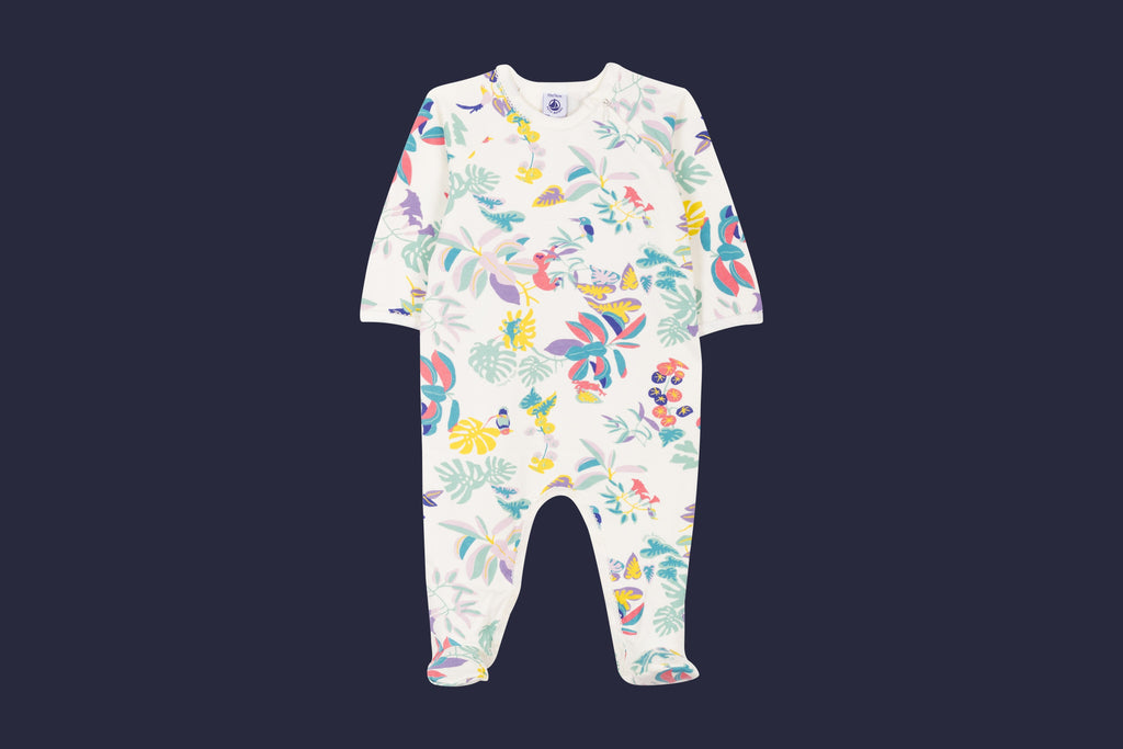 SLEEPSUIT,marshmallow/multico