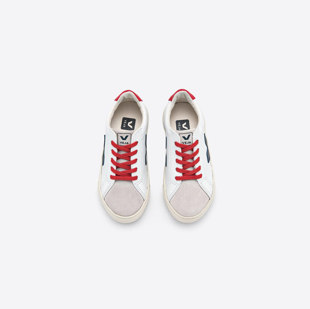 JUNIOR ESPLAR LACE LEATHER EXTRA-WHITE_NAUTICO_PEKIN_LACES