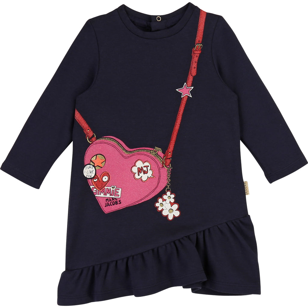 BABY DRESS, NAVY - Cemarose Children's Fashion Boutique