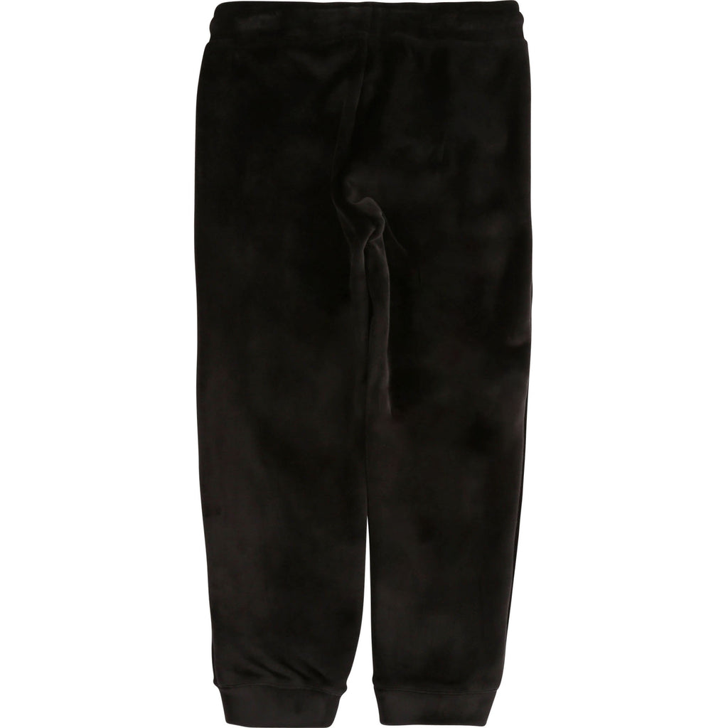 VELVET TROUSERS, BLACK - Cemarose Children's Fashion Boutique