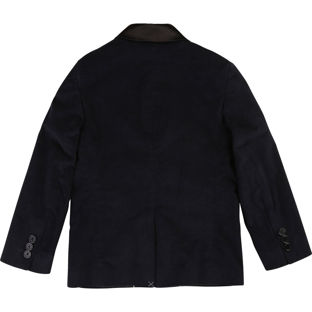 SUIT JACKET+BOW TIE, NAVY - Cemarose Children's Fashion Boutique