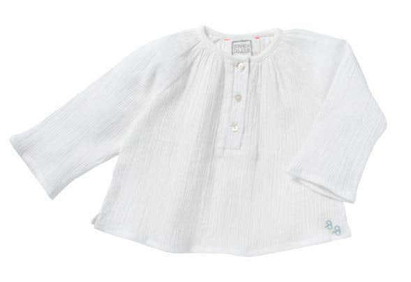 SS19-GIRL, WOW-WHITE - Cemarose Children's Fashion Boutique