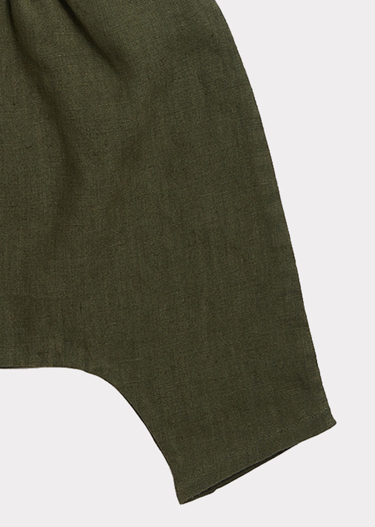 ALDGATE BABY TROUSERS, ARMY GREEN