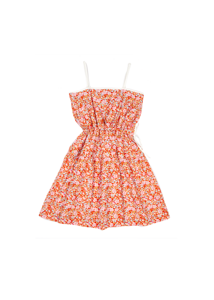 ALYSSUM DRESS,RED - Cemarose Children's Fashion Boutique
