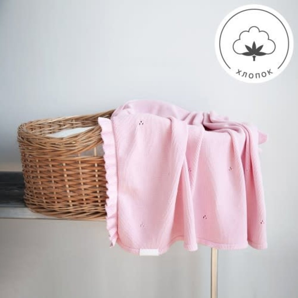 MILKY blanket, light pink - Cemarose Children's Fashion Boutique