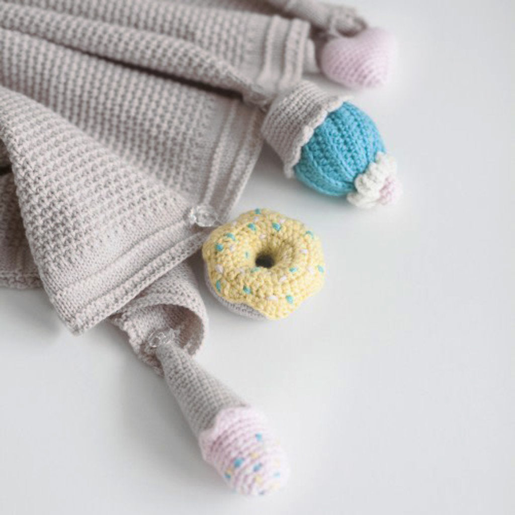 SWEETS blanket, pearl - Cemarose Children's Fashion Boutique