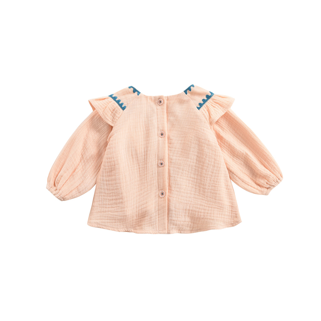 Blouse Andrea Blush - Cemarose Children's Fashion Boutique