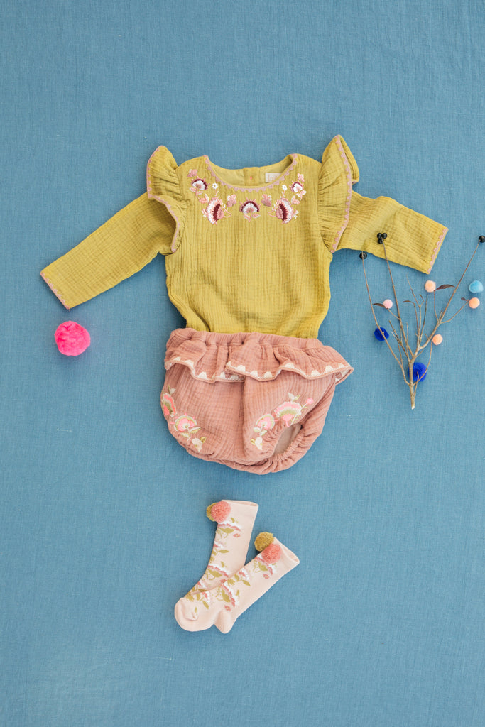 Bodysuit Azu Honey - Cemarose Children's Fashion Boutique